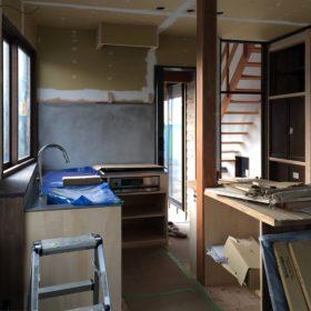 『台所』栃木市のヴィンテージハウス