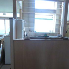 キッチンから見える風景